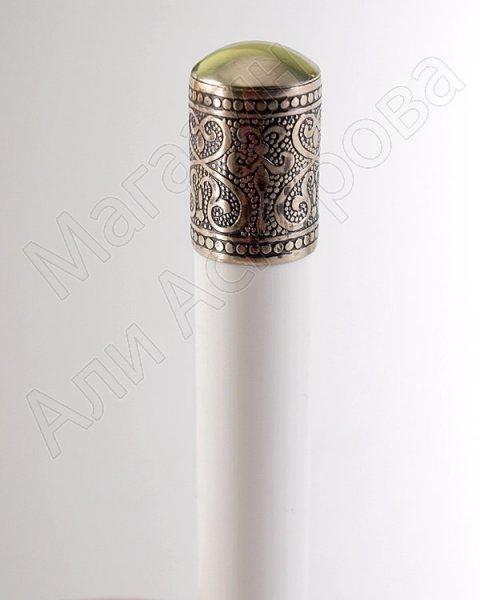 Газыри ручной работы мастера Гасана Гаджиахмедова (мельхиор, комплект 20 шт) арт.7460