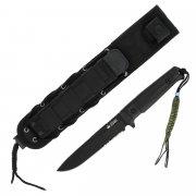 """Тактический нож """"Alpha"""" (сталь - D2 BT Serrated, рукоять - кратон) арт.4226"""