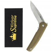 "Складной нож ""Biker X"" (сталь - 440C Satin, рукоять - G10) арт.4252"