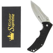 "Складной нож ""Bloke Z"" (сталь - 440C Black, рукоять - G10) арт.4291"