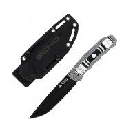 """Туристический нож """"Echo"""" (сталь - AUS-8 Black Titanium, рукоять - G10) арт.4299"""