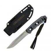 "Туристический нож ""Enzo"" (сталь - AUS-8 Satin, рукоять - G10) арт.4300"