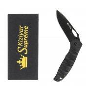"""Складной нож """"Hero"""" (сталь - 440C Black, рукоять - микарта) арт.4305"""