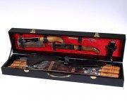 Кизлярский шашлычный набор в подарочном кейсе малый (черный)