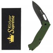 "Складной нож ""Ute"" (сталь - 440C StoneWash, рукоять - G10) арт.4333"