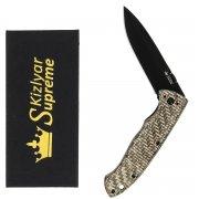 """Складной нож """"Vega"""" (сталь - 440C BT, рукоять - микарта) арт.4335"""
