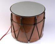 Профессиональный кавказский барабан с микрофоном ручной работы Дамира Мамедова (34 см) арт.2274