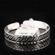 Серебряный кубачинский браслет с чернением арт.7667