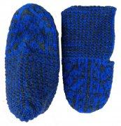 Джурабы-чешки шерстяные синие