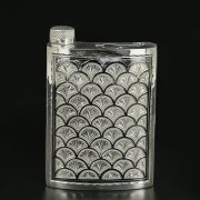 Кубачинская серебряная фляга арт.9817