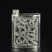 Кубачинская серебряная фляга арт.9823