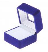 "Подарочный футляр для кольца ""Синий квадрат"""