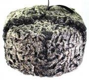 Мужская каракулевая шапка ручной работы (сорт - чистопородная антика)