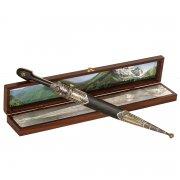 Кавказский кинжал с цельной рукоятью (сталь - Х12МФ, рукоять - дерево) арт.9402