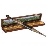 Кавказский кинжал с цельной рукоятью (сталь - кованая, рукоять - дерево) арт.9408