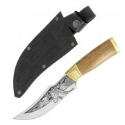 "Кизлярский нож разделочный ""Аллазал"" (сталь - Х12МФ, рукоять - дерево) арт.4393"