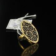 Кубачинское серебряное кольцо ручной работы арт.5506