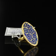 Кубачинское серебряное кольцо ручной работы арт.5507