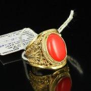 Кубачинское серебряное кольцо ручной работы с филигранью арт.5509