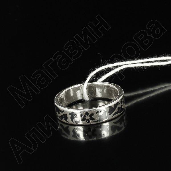 Кубачинское серебряное кольцо ручной работы арт.5548