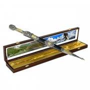 Кубачинский подарочный набор в футляре (кинжал с серебряными вставками) арт.4149