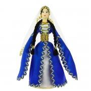 Керамическая кукла в дагестанском национальном костюме средняя арт.6649