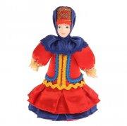 """Керамическая кукла """"Казачка в праздничном наряде"""" арт.8989"""