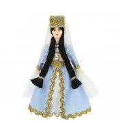 Керамическая кукла в кабардинском национальном костюме (малая) арт.9246