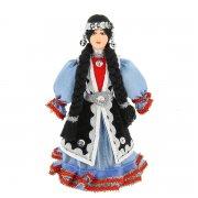 Керамическая кукла в башкирском национальном костюме (малая) арт.9254