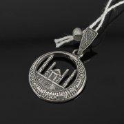 Кубачинский серебряный кулон ручной работы с гравировкой арт.7954