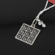 Кубачинский серебряный кулон ручной работы с чернением арт.7995