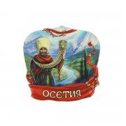 """Магнитик керамический полистоун """"Осетия"""" арт.9680"""