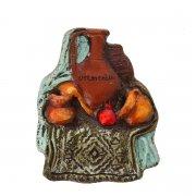 Магнитик керамический ручной работы арт.9138