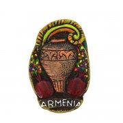 Магнитик керамический ручной работы арт.9139