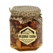 Натуральный мёд с орехами горный Дагестанский арт.9344