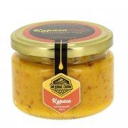 Натуральный крем-мёд с курагой горный Дагестанский арт.9345