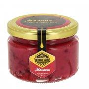 Натуральный крем-мёд с малиной горный Дагестанский арт.9350