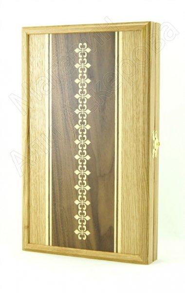 Нарды ручной работы малые (кавказский дуб) арт.6305