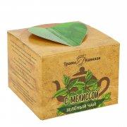 Натуральный зеленый чай с мелиссой арт.9983