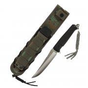 """Тактический нож """"Croc"""" (сталь - D2, рукоять - кратон) арт.6250"""