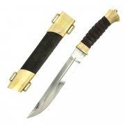Нож пластунский (сталь - 65Х13, рукоять - венге) арт.5140