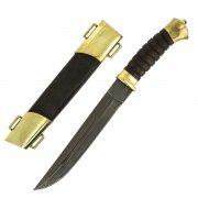 Нож пластунский (сталь - алмазная ХВ5, рукоять - венге) арт.5149