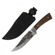 """Кизлярский нож туристический """"Ф-1"""" (сталь - AUS-8, рукоять - дерево) арт.6067"""