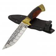 "Кизлярский нож туристический ""Беркут"" (сталь - 65Х13, рукоять - дерево) арт.2559"