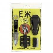 """Кизлярский разделочный нож """"Еж"""" (сталь - AUS-8 SW, рукоять - полимер) арт.8320"""