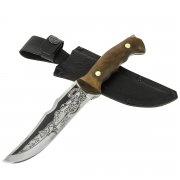 "Кизлярский нож разделочный ""Скорпион-1"" (сталь - 65Х13, рукоять - дерево) арт.6785"