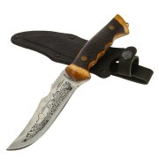 """Кизлярский нож туристический """"Скорпион"""" (сталь - 65Х13, рукоять - дерево) арт.8357"""