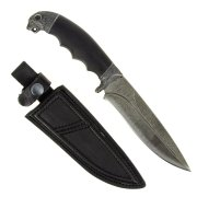 """Кизлярский нож разделочный """"Сафари-1"""" (сталь - дамасская, рукоять - граб) арт.4550"""