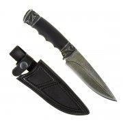 """Кизлярский нож разделочный """"Сафари-1"""" (сталь - дамасская, рукоять - граб) арт.4559"""