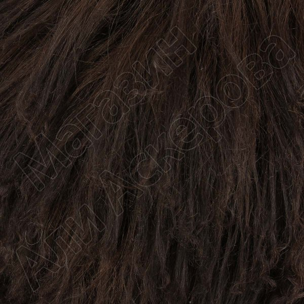 Кавказская папаха коричневая из натуральной бараньей шкуры арт.5024